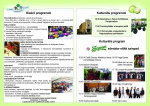 A Soproni színpad programja